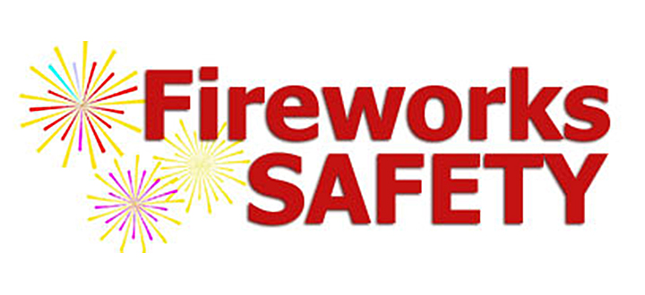 Fireworks Safety text